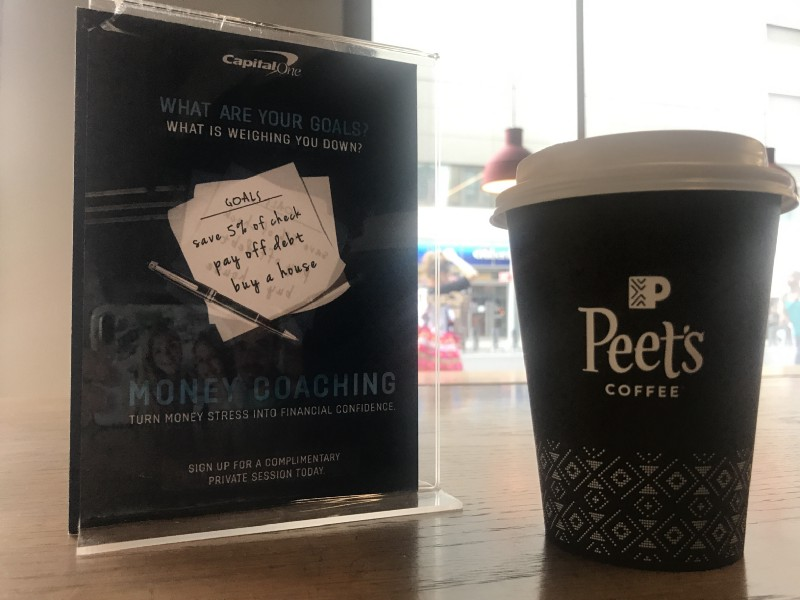 Capital One & Peets Café