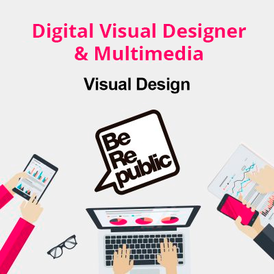Digital Visual Designer & Multimedia para BeRepublic