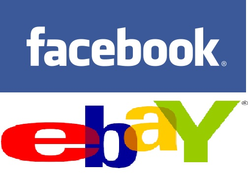 eBay and Facebook logo